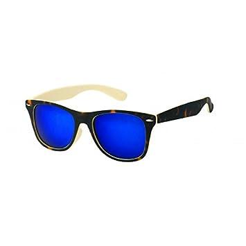 Chic-net uV 400 nerd clear paire de lunettes de soleil à verres miroir style wayfarer tiger print marron multicolore Rose rose bonbon IgF12aq