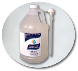 Instant Hand Sanitizer - 1 Gallon 128 oz - Unscented (Hand Sanitizer Gel Refill)
