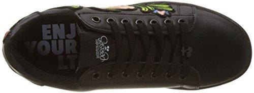 Nero des Donna Sacha Flower Cerises Black Sneaker Temps Flower Black Le FqUgAA