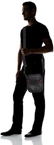 IN UOMO BS17TJ03 BORSA REPORTER Jeans MAINE NERO ECOPELLE Trussardi wCHXpX