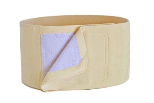 Belly Band - Cotton Support for Appendicitis, Hernia, Laparoscopy, C-Section, and Postpartum Care (Size Small)