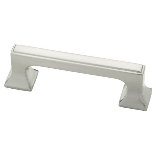 Liberty P20383-SN-C 3-Inch Kitchen Cabinet Hardware Drawer Handle Pull, Satin Nickel
