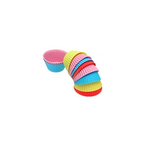 Targarian Teglia Muffin Rotonda In Silicone Colorata - Formine Muffin E Pasticcini by