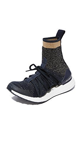 adidas by Stella McCartney Women's Ultraboost X Sneakers, Legend Blue/Black/White, 8.5 B(M) US