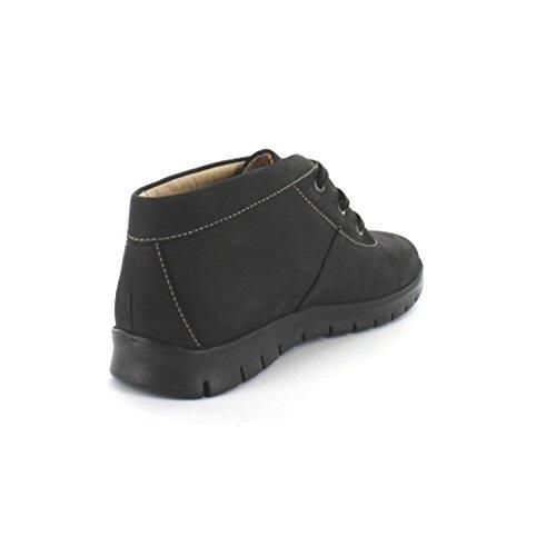 FinnComfort LEON 2854046099 Damen Stiefel, Schwarz 36 EU