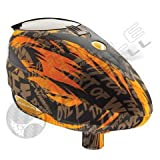 Dye Rotor Paintball Loader / Hopper (Click-a-Color) (Tiger Orange)