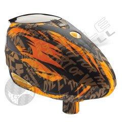 Dye Rotor Paintball Loader - Tiger Orange by Dye