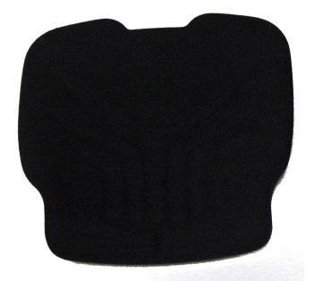 Grammer Maximo S721 Polstersatz Stoff schwarz Sitzkissen und Rückenkissen