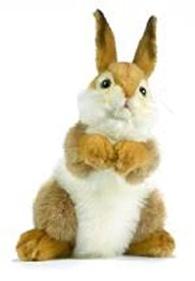 "Hansa Plush - 12"" Baby Bunny Carmel"