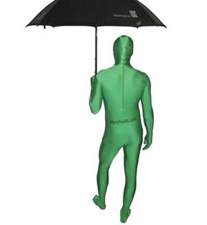 Morphsuit - Traje Zentai de Lycra (Talla XL), Color Verde ...