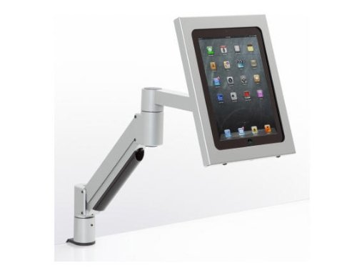 Innovative Office Products 7000-500HY-8424-124 7000 SERIES ARMW/IPAD HOLDER SILVER. by Innovative Office Products