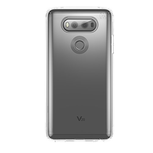 Speck Products Presidio Clear Cell Phone Case for LG V20 - Clear/Clear