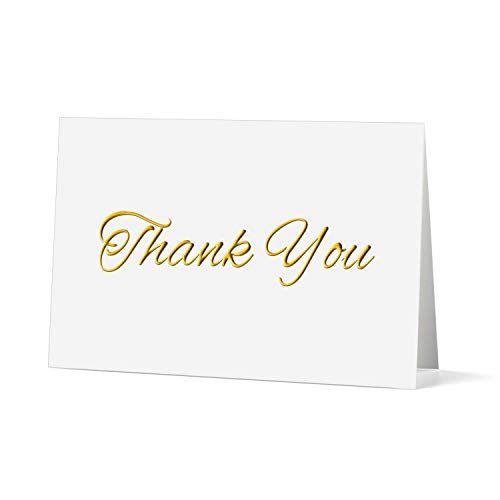 20 Pack Letterexpress Thank You Cards Blank Greeting Notes for Christmas Wedding Bridal Shower Baby Shower Graduation Anniversary Birthday with Envelopes