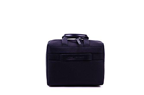 Piquadro Move 2 Beauty Case da Viaggio, Sintetico, Nero, 26 cm