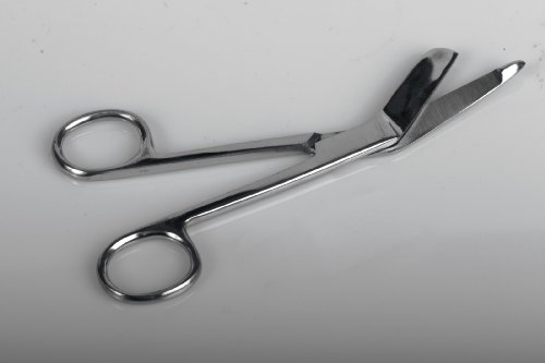 Medline Scissors (Medline MDS10474 Scissors, Bandage, Lister, 3.5