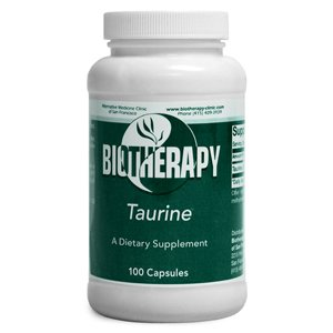 Biotherapy Taurine Amino Acid Supplements in Vegetarian Capsules