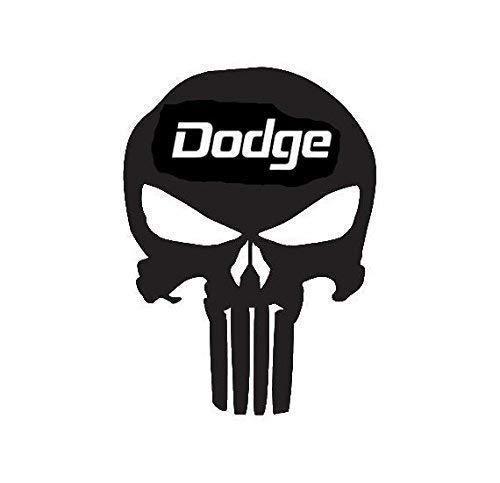 Amazoncom Punisher Skull Dodge Emblem Decal Choose Size And Color