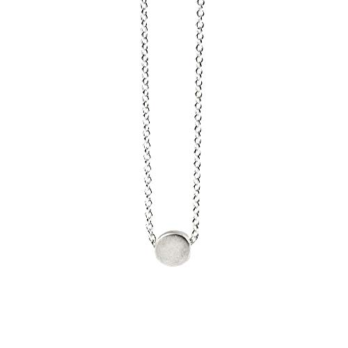 Dogeared Sterling Silver Reminder The Circle Boxed Necklace 16