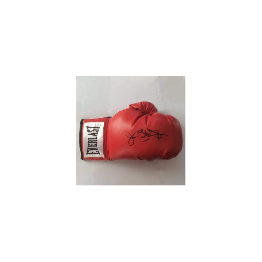 Buster Douglas Autographed Boxing Glove Autographed Boxing Gloves