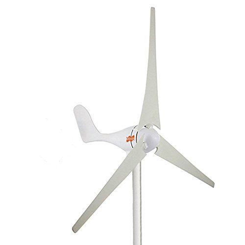 MarsRock Small Wind Turbine Generator AC 12Volt or 24Volt,400W Economy Windmill for Wind Solar Hybrid System 2m/s Start Wind Speed 3 blades (400Watt 12Volt) -