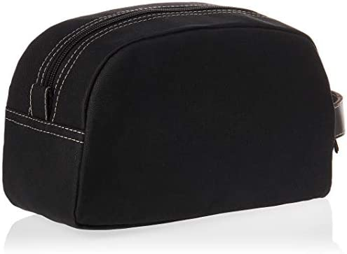 Timberland Men's Travel Kit Toiletry Bag Organizer, black, One Size