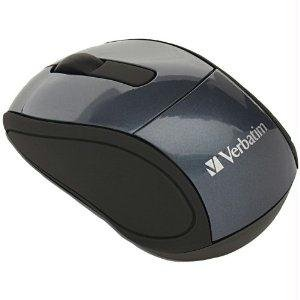 Verbatim 97470 Wireless Mini Travel Mouse Gra from Verbatim
