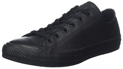 001 Mono Ox Sneaker Star Black Converse Nero all B6qT7nY0Rx