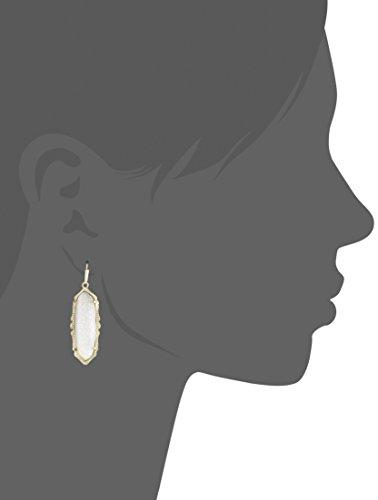 Kendra Scott ''MysticBazaar'' Gold Iridescent Drusy Fran Drop Earrings by Kendra Scott (Image #2)