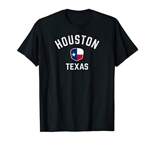 Houston Texas T-Shirt - Texan Flag Houston Tee