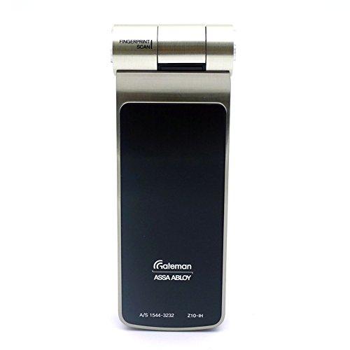 iREVO Gateman Digital Door Lock Z10-IH LED Touch Keypad Fingerprint Touch screen Double lock Fire detection Easy scan Voice -