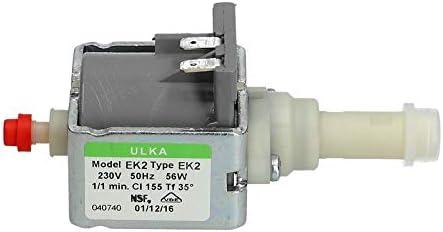 Bomba eléctrica Bomba de agua Bomba de agua Cafeteras Dispositivos de limpieza Ulka EK2 230V: Amazon.es: Hogar