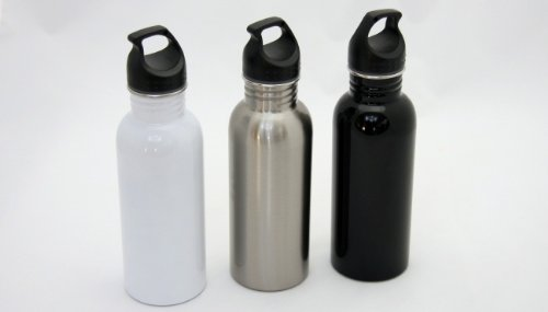 Stainless Steel Water Bottle - 20 oz. Case Pack 24 by Chef Craft