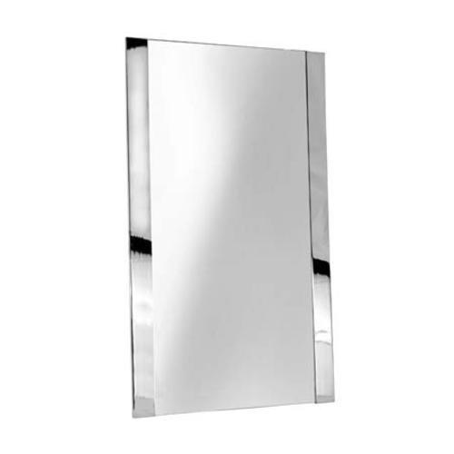Ginger 4741 Cinu 20 x 34 Framed Mirror, Polished Nickel by Ginger
