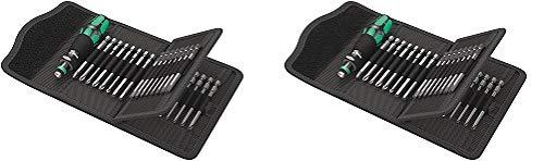 Wera Kraftform Kompakt 62 Bitholding Screwdriver and Pouch Set, 33-Pieces (2-(Pack))