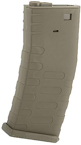 Evike APS 300rd U-Mag Hi-Capacity Magazine for M4 / M16 / UAR Series Airsoft AEG Rifles (Color: Dark -