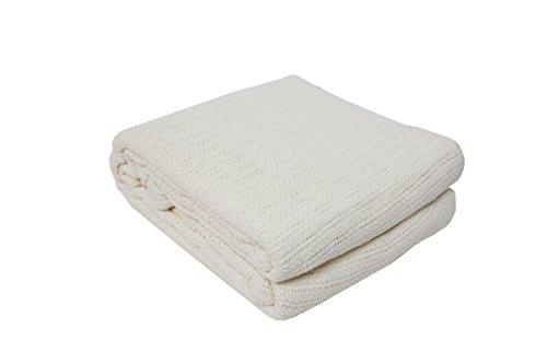 J&M Home Fashions Soft Premium Cotton Thermal Blanket, Full/