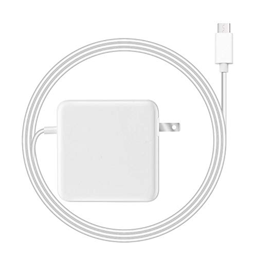 61W USB-C Charger for New MacBook Air Pro 12 Inch 13 Inch (2015/2016/2017/2018) iPad Pro 12.9 Inch 11Inch 10.9 Inch 2018 Notebook Power Supply Cord Air Notebook Power Adapter