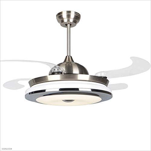 Ventiladores para el Techo con Lámpara El ventilador invisible moderno enciende la hoja de acrílico Los ventiladores ...