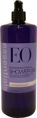 (EO Essentials Lavender + Aloe Soothing Shower Gel 32 oz.)