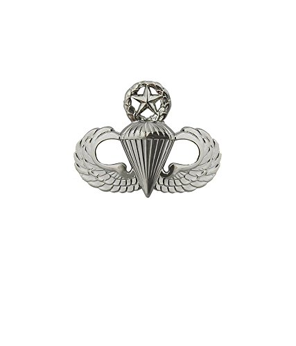 - Parachutist Master US Army Badge (Brite, Shiny)