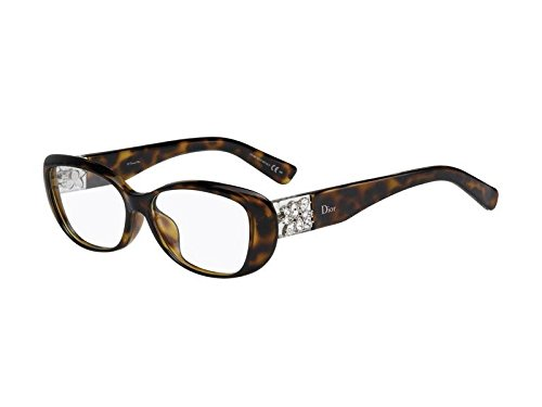 Christian Dior CD 3273/F Havana Crystal Eyeglass Frames
