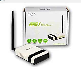 Alfa AP51 802.11b/g Wireless-G Router - Multi-Function AP / Client / Router / WISP / Repeater (B0040LY6IC) | Amazon price tracker / tracking, Amazon price history charts, Amazon price watches, Amazon price drop alerts