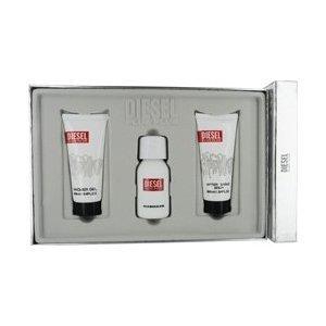 DIESEL PLUS PLUS by Diesel Gift Set for MEN: EDT SPRAY 2.5 OZ & AFTERSHAVE BALM 3.4 OZ & SHOWER GEL 3.4 OZ