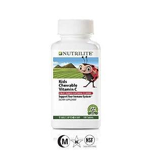 Amway Nutrilite Kids Chewable Natural C Tablet (100N)