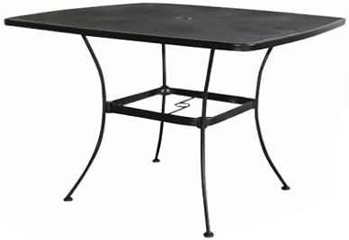 WOODARD CM Uptown Steel Mesh Dining Table, 42