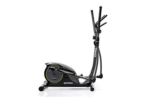 Zipro Hulk magnetische crosstrainer voor volwassenen, tot 150 kg, zwart, één maat, eenheidsmaat