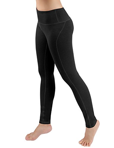 ODODOS Power Flex Yoga Pants Tummy Control Workout Non See-Through Leggings with Pocket