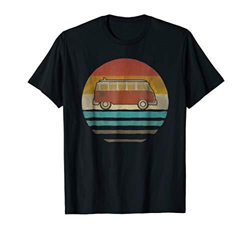 Retro Vintage RV Camper Van Shirt 60s Silhouette