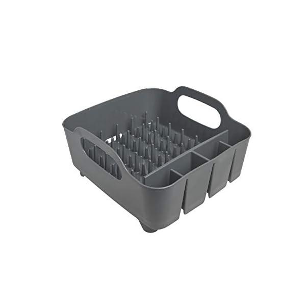31QIp96poiL Umbra Tub Geschirr Abtropfgestell – Abtropfkorb mit integriertem Tropfwasserabfluß für Ihre Spüle oder Arbeitsfläche in…