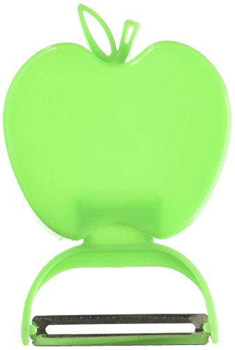 Apple-Shaped Fruit and Vegetable Peeler Apple Peeler (Green)